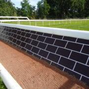 Mur obstacle pvc TecRail