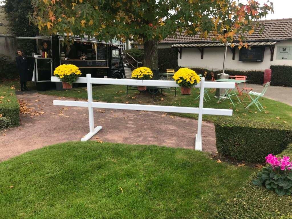 barrière mobile 2 rails