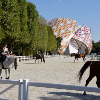 carrière d'honneur Fondation Louis Vuitton