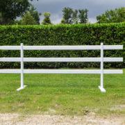 barrière mobile 3 rails