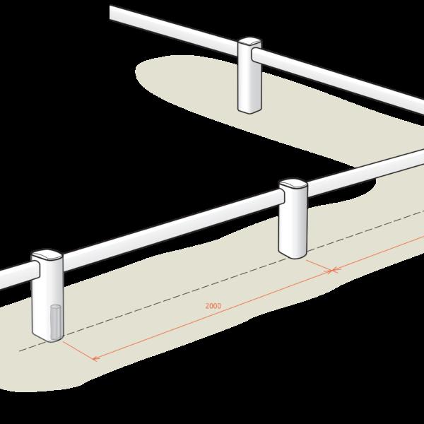 lice de dressage 1 rail