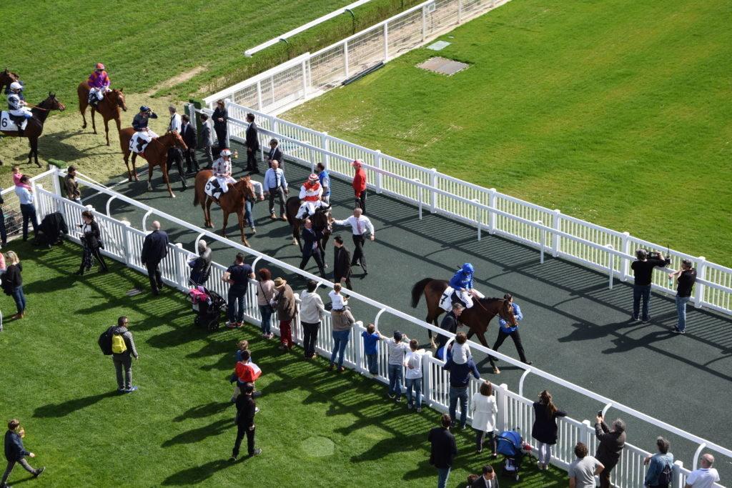 Allée des Jockeys, Paris Longchamp - Lices TecRail