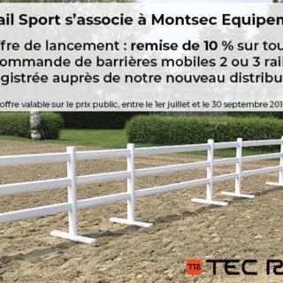 offre lancement partenariat Montsec Equipement TecRail