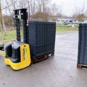 dalles de stabilisation 100% pvc recyclé TecRail TR 01