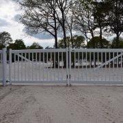 Grand parc Compiègne, portail cheval main courante TecRail