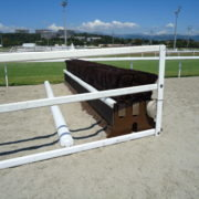 Hurdle sections of 2 or 3 rows