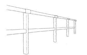 Lice carrière équestre Jumping PVC - TecRail