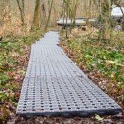 Dalles de stabilisation TR 01 - stabilisation de chemin dans forêt