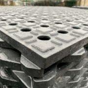 Dalles de stabilisation TR 01 TecRail PVC recyclé